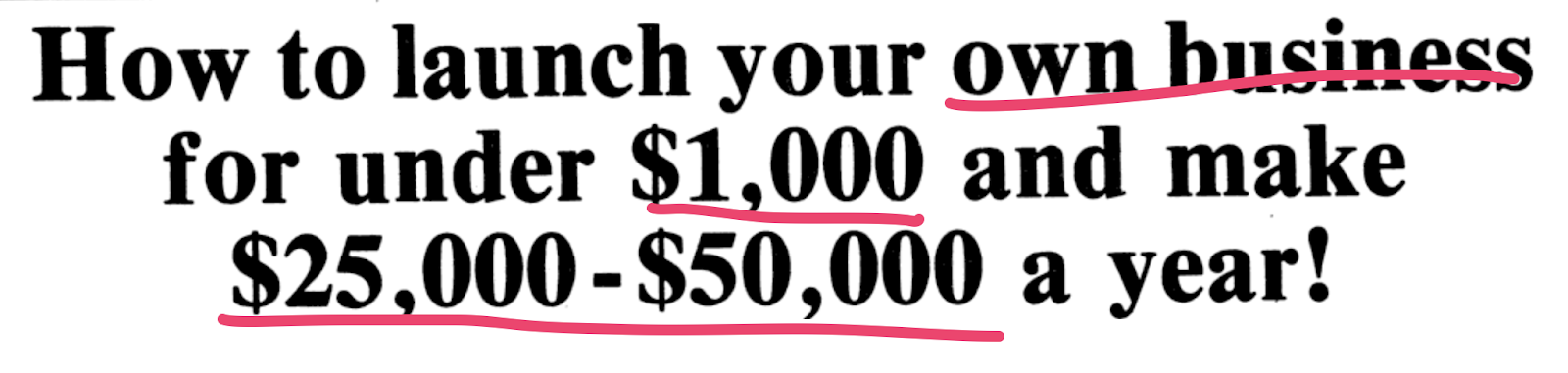 Gary Bencivenga Headline With Greed Power Words