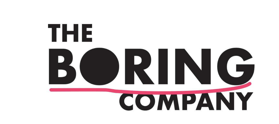 The Boring Company's logo