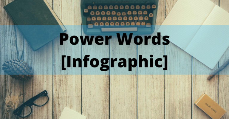 power words infographic