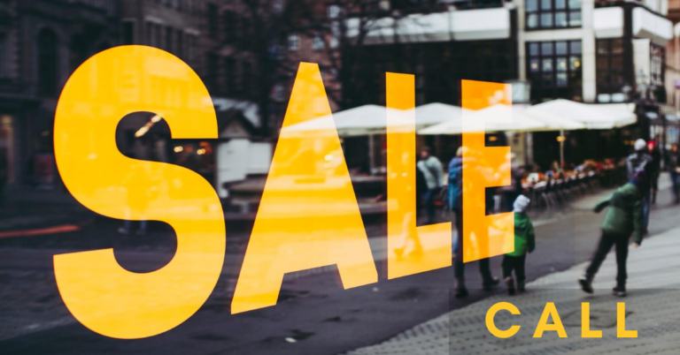sale call