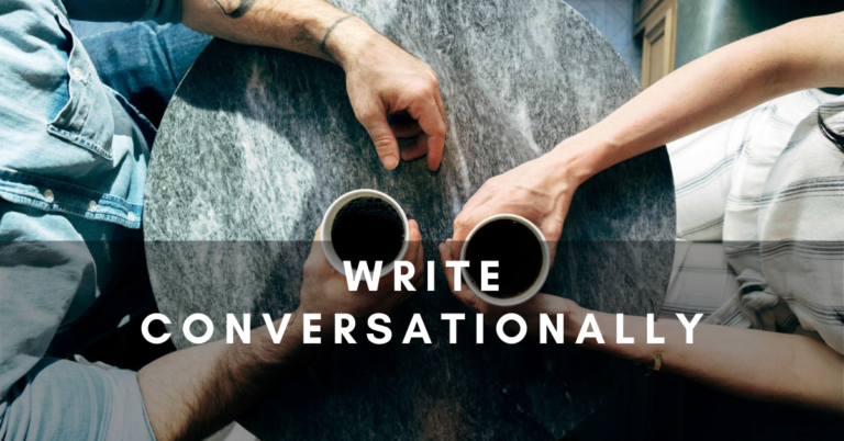 write-conversationally